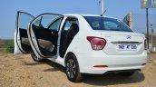 Hyundai Xcent Review door open