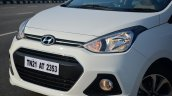 Hyundai Xcent Review front fascia