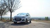 Hyundai Xcent Review front quarters