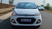 Hyundai Xcent Review front