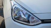 Hyundai Xcent Review headlight