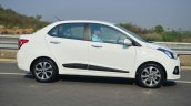 Hyundai Xcent Review moving side