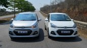 Hyundai Xcent Review petrol front