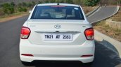 Hyundai Xcent Review rear brake lights