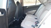 Hyundai Xcent Review rear legroom