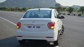 Hyundai Xcent Review rear lights