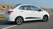 Hyundai Xcent Review rear quarters