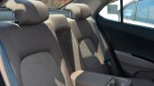 Hyundai Xcent Review rear seat armrest