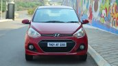 Hyundai Xcent Review red front