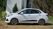 Hyundai Xcent Review side image