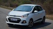 Hyundai Xcent Review side shot lights