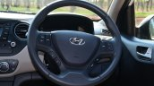 Hyundai Xcent Review steering