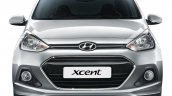 Hyundai Xcent front official image
