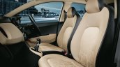 Hyundai Xcent front seating official image