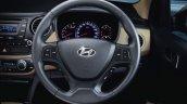 Hyundai Xcent multifunction steering wheel