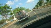 IAB spies 2014 Mahindra Scorpio facelift rear quarter