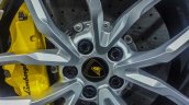 India preview Lamborghini Huracan wheel