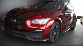 Infiniti Q50 Eau Rouge front three quarters at the 2014 Goodwood Festival of Speed