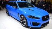 Jaguar XFR-S Sportbrake front three quarter - Geneva Live