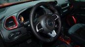 Jeep Renegade cockpit at Geneva Motor Show