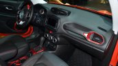 Jeep Renegade dashboard at Geneva Motor Show