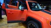 Jeep Renegade front door open at Geneva Motor Show