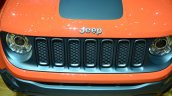 Jeep Renegade grille at Geneva Motor Show