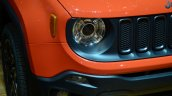 Jeep Renegade headlamp at Geneva Motor Show