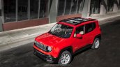 Jeep Renegade leaked image front three quarters above