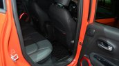 Jeep Renegade rear knee room at Geneva Motor Show