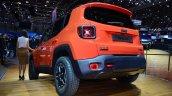 Jeep Renegade rear three quarters at Geneva Motor Show