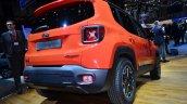 Jeep Renegade rear three quarters left at Geneva Motor Show