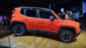 Jeep Renegade side view at Geneva Motor Show