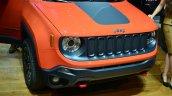Jeep Renegade snout at Geneva Motor Show
