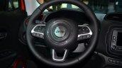 Jeep Renegade steering wheel at Geneva Motor Show