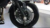Kawasaki ER-6n at 2014 Bangkok Motor Show front wheel