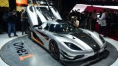Koenigsegg One-1 at Geneva Motor Show