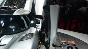 Koenigsegg One-1 door at Geneva Motor Show