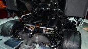 Koenigsegg One-1 engine at Geneva Motor Show