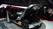 Koenigsegg One-1 rear three quarters at Geneva Motor Show
