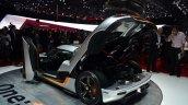 Koenigsegg One-1 rear three quarters at Geneva Motor Show