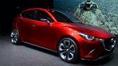 Mazda Hazumi front three quarter right - Geneva Live