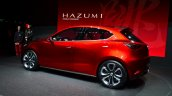 Mazda Hazumi rear three quarter left - Geneva Live