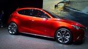 Mazda Hazumi side wheels - Geneva Live