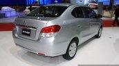 Mitsubishi Attrage 2014 Bangkok Motor Show rear quarter