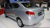Mitsubishi Attrage 2014 Bangkok Motor Show rear three quarter