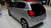 New Citroen C1 rear three quarters at Geneva Motor Show 2014