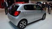 New Citroen C1 rear three quarters right at Geneva Motor Show 2014