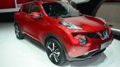 New Nissan Juke front three quarter right - Geneva Live