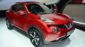 New Nissan Juke front three quarter right profile - Geneva Live